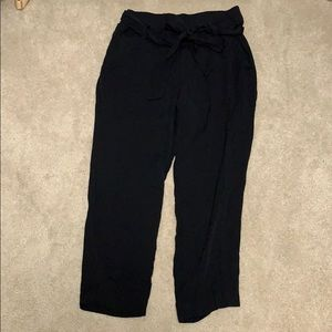 Old Navy Ankle High Waist Tie Pants Size 0P